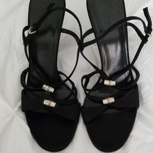 473d6304a8 Women Gucci Crystal Sandals on Poshmark